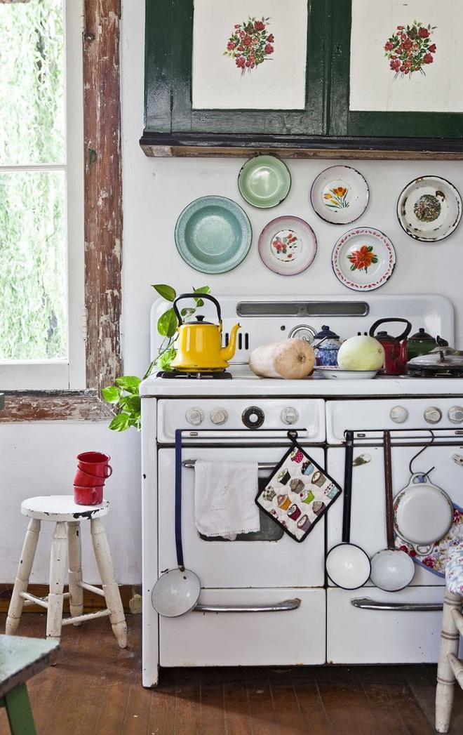 Sử dụng phụ kiện bếp theo phong cách retro chưa bao giờ là lỗi mốt - Ảnh 3.
