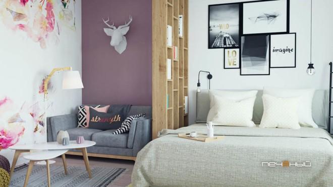 Cô gái trẻ biến căn phòng đi thuê 15m² thành căn hộ khép kín siêu đẹp nhờ giải pháp sáng tạo  - Ảnh 3.