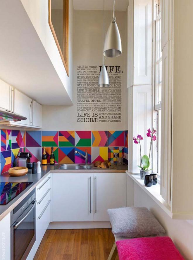 Đừng ngại nhà bếp nhỏ mà bỏ qua những chiếc đèn trang trí siêu xinh dưới đây - Ảnh 6.