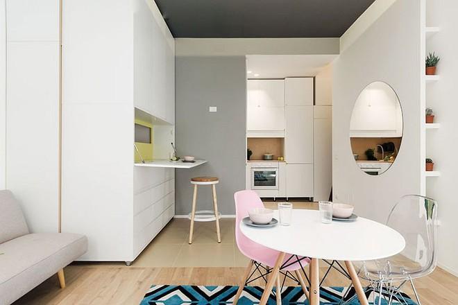 Căn hộ 30m² được thiết kế và bài trí đẹp không kém gì căn hộ cao cấp - Ảnh 2.