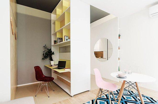 Căn hộ 30m² được thiết kế và bài trí đẹp không kém gì căn hộ cao cấp - Ảnh 5.