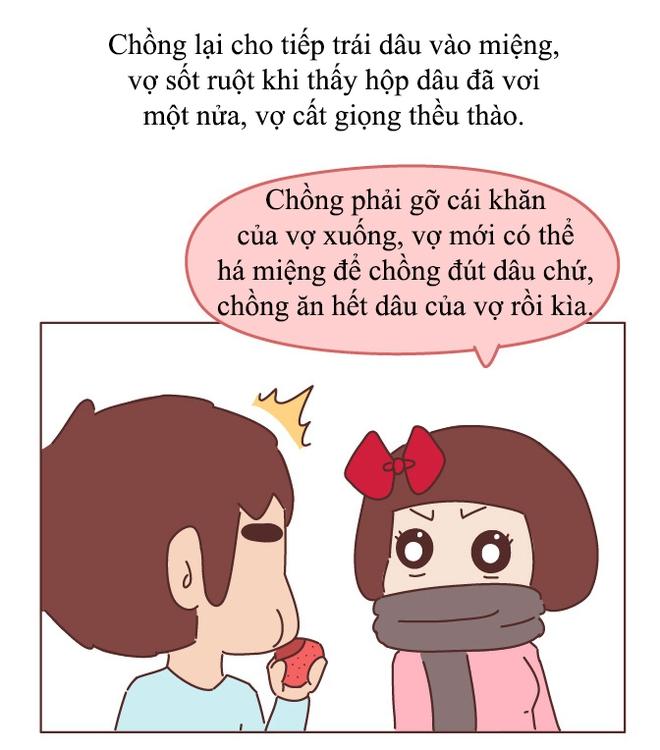 Truyện tranh: Những trò đùa nghịch lầy lội mà dễ thương vô cùng của vợ khiến chồng không yêu không được - Ảnh 22.
