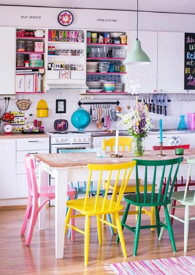 Những nhà bếp với gam màu cực hợp trong ngày đông lạnh giá - Ảnh 2.