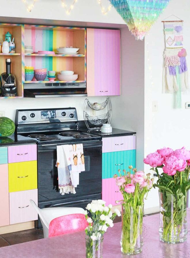 Những nhà bếp với gam màu cực hợp trong ngày đông lạnh giá - Ảnh 3.