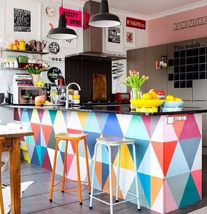 Những nhà bếp với gam màu cực hợp trong ngày đông lạnh giá - Ảnh 5.