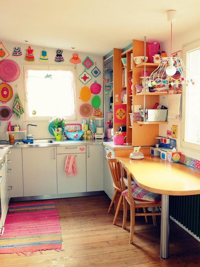 Những nhà bếp với gam màu cực hợp trong ngày đông lạnh giá - Ảnh 7.
