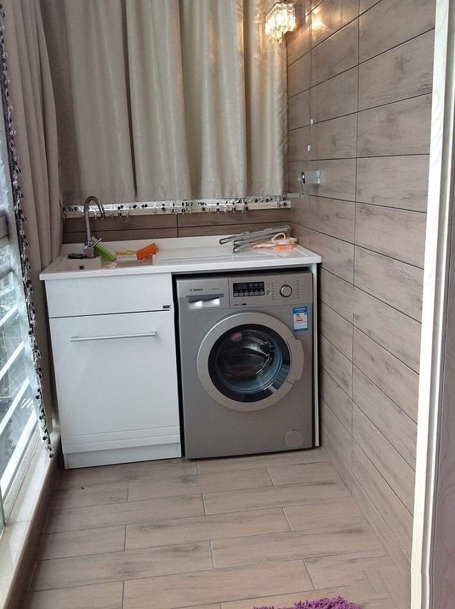 Đặt máy giặt ở ban công – giải pháp cho nhà ở chung cư có diện tích chật chội - Ảnh 2.