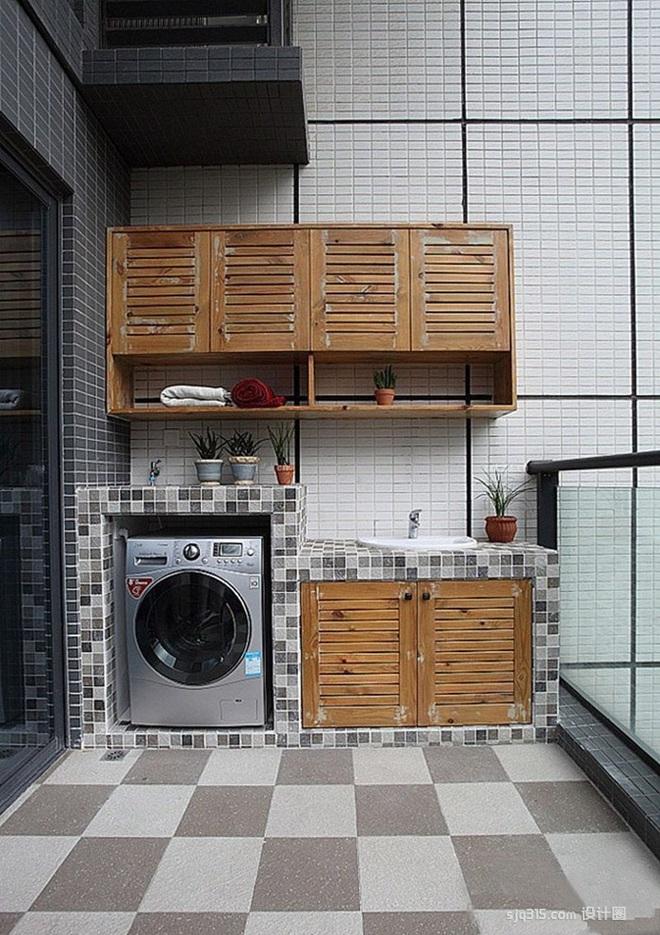 Đặt máy giặt ở ban công – giải pháp cho nhà ở chung cư có diện tích chật chội - Ảnh 5.
