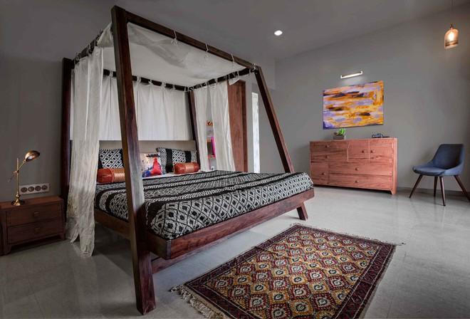 Những căn phòng ngủ bình yên đến không ngờ nhờ phong cách Á Đông - Ảnh 1.