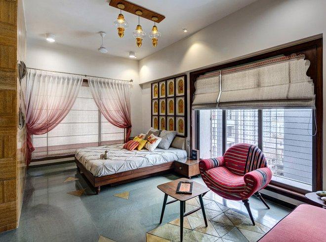 Những căn phòng ngủ bình yên đến không ngờ nhờ phong cách Á Đông - Ảnh 5.