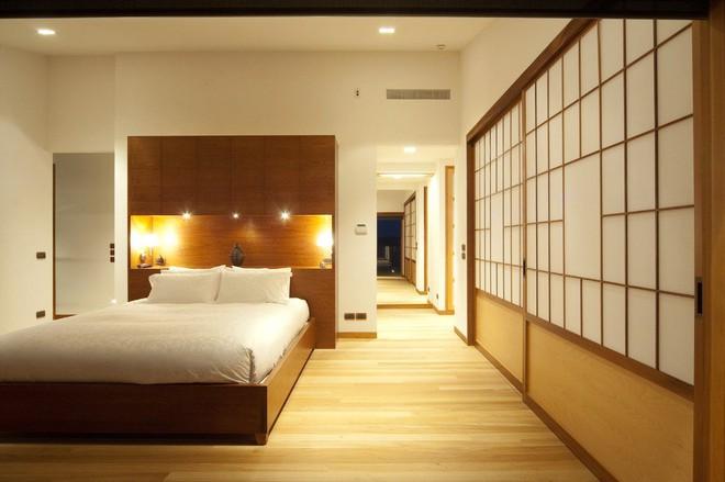 Những căn phòng ngủ bình yên đến không ngờ nhờ phong cách Á Đông - Ảnh 10.