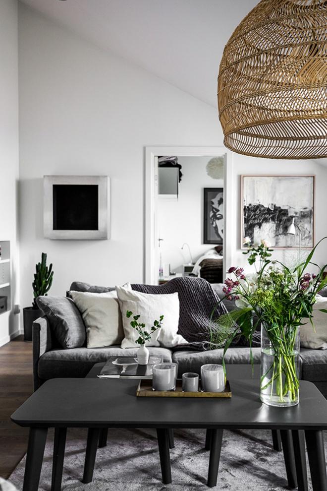 Căn hộ đẹp không tì vết khi biết mua sofa da thật ở đâu hoàn hảo