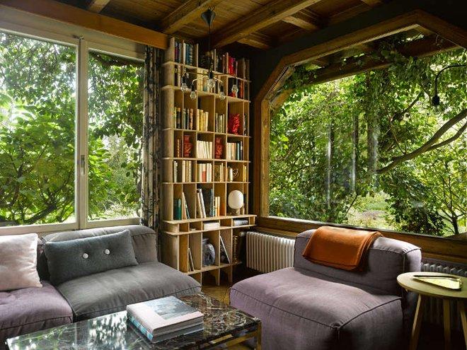 Được ở trong ngôi nhà gỗ bình yên như thế này thì chắc chắn bạn sẽ lãng quên ngay nhà phố hiện đại - Ảnh 3.