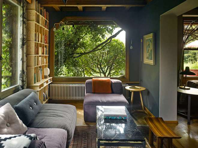 Được ở trong ngôi nhà gỗ bình yên như thế này thì chắc chắn bạn sẽ lãng quên ngay nhà phố hiện đại - Ảnh 5.