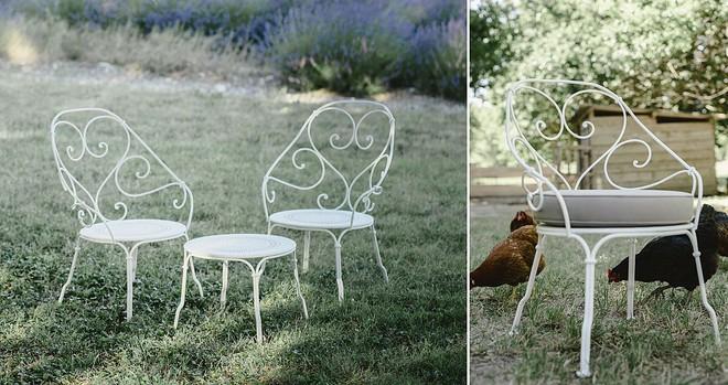 Học cách sử dụng những bộ bàn ghế cổ điển của người Pháp để ngôi nhà thật lãng mạn và quyến rũ - Ảnh 10.