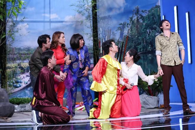 Trấn Thành ép Anh Tú thừa nhận không yêu Diệu Nhi trên sóng truyền hình - Ảnh 11.