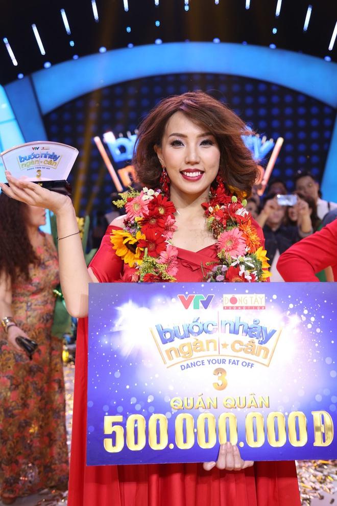 Giảm gần 30kg, mẹ một con Thanh Huyền trở thành Quán quân Bước nhảy ngàn cân - Ảnh 6.