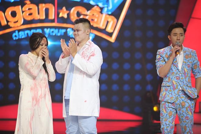 Hù dọa Việt Hương bất thành, mẹ một con Thanh Huyền suýt bị loại khỏi Bước nhảy ngàn cân - Ảnh 7.