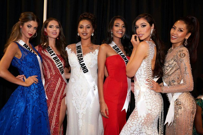 Nguyễn Thị Loan khoe đường cơ bụng khiến các thí sinh Âu Mỹ phải chạy dài trong đêm sơ kết Miss Universe 2017 - Ảnh 6.