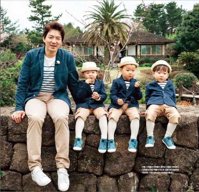 Ông bố quốc dân xứ Hàn và cách dạy 3 con sinh ba đến chuyên gia tâm lý cũng phải khen ngợi - Ảnh 6.