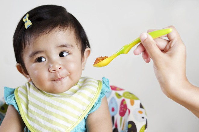 Ngũ cốc thơm ngon cho tất cả các trường hợp nấc cho trẻ từ 6 tháng tuổi ăn một ít cao su là không đủ để từ bỏ - Ảnh 3.