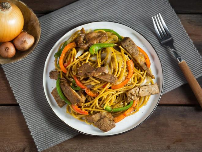Việt hóa món Tây với spaghetti sườn ram tiêu ngon bá cháy - Ảnh 6.