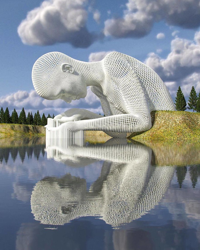 Những tác phẩm điêu khắc kỳ lạ khiến bạn không tin nổi vào mắt mình - Ảnh 1.