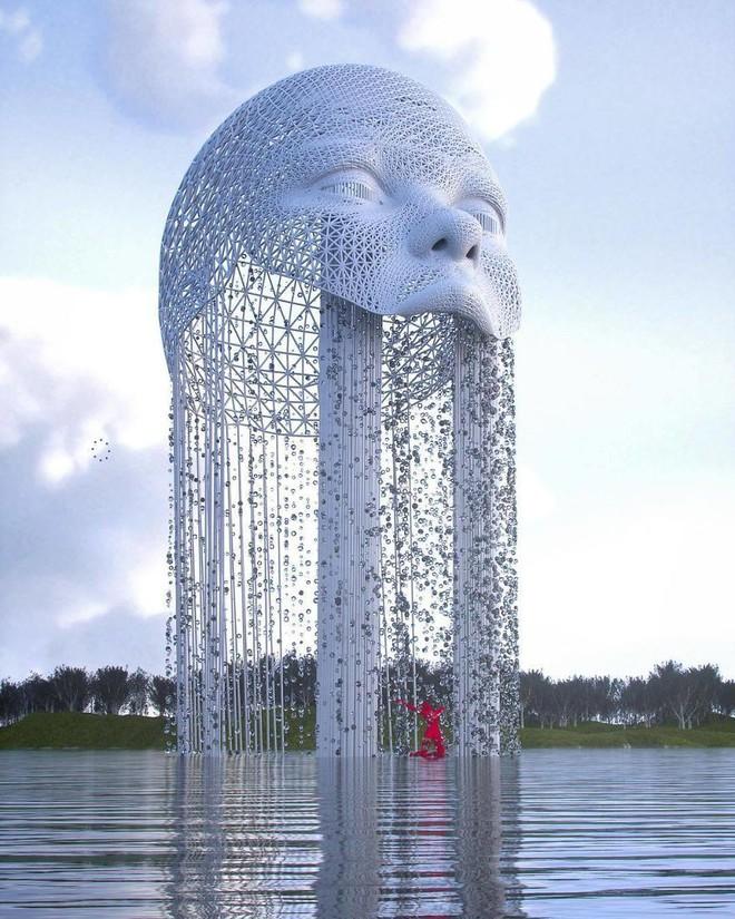 Những tác phẩm điêu khắc kỳ lạ khiến bạn không tin nổi vào mắt mình - Ảnh 10.