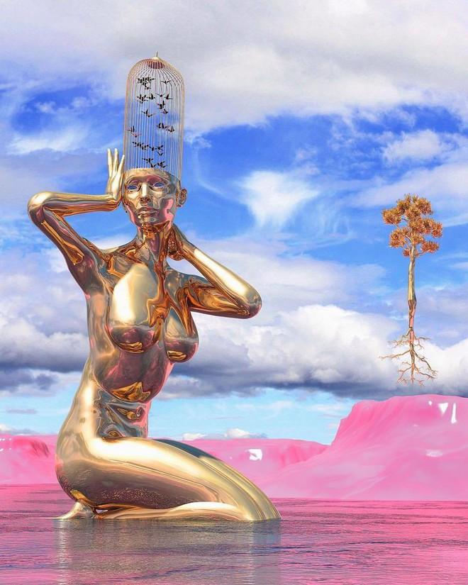 Những tác phẩm điêu khắc kỳ lạ khiến bạn không tin nổi vào mắt mình - Ảnh 6.