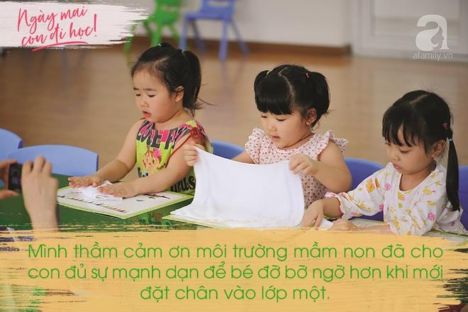 Những mẩu chuyện đáng yêu của bé vào lớp một được kể qua lời của một bà mẹ thương con hết nấc - Ảnh 1.
