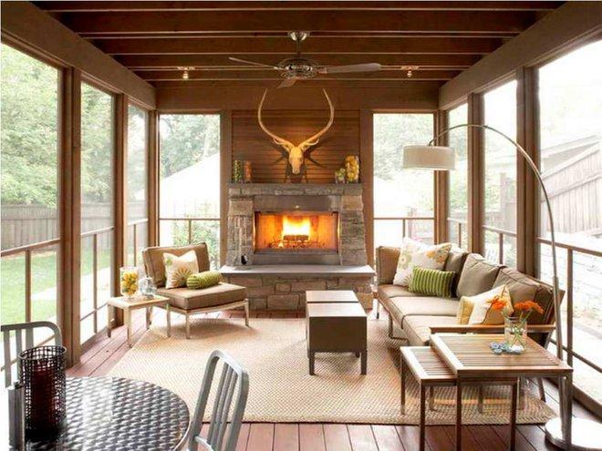 13 ý tưởng biến hiên nhà trở thành không gian nghỉ ngơi đắt giá - Ảnh 1.
