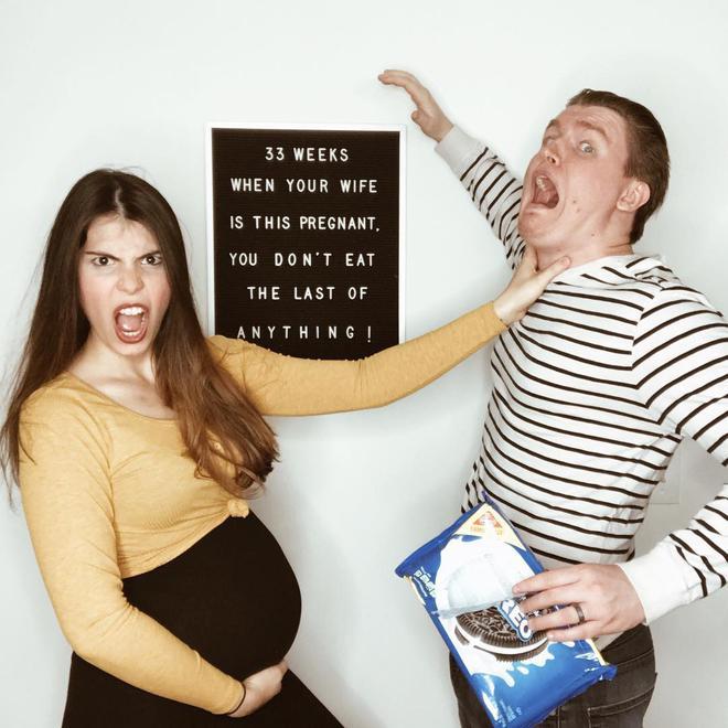 """Mẹ bầu tiết lộ """"sự thật trần trụi"""" của quá trình mang thai trong bộ ảnh thai kỳ vui nhộn - Ảnh 5."""