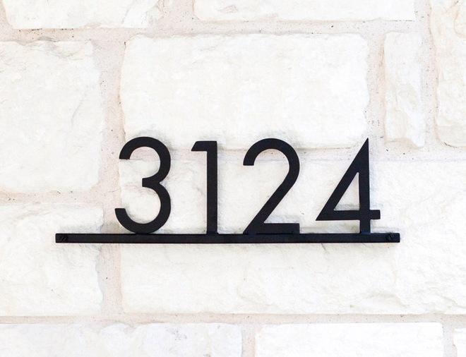 Đừng để biển số nhà bạn nhàm chán, hãy biến chúng trở thành độc nhất với những ý tưởng này - Ảnh 11.