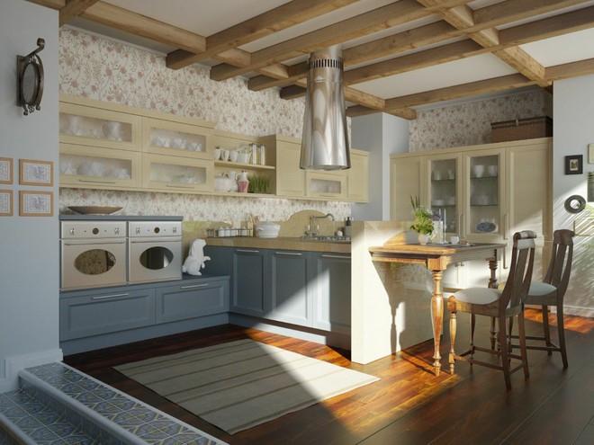 10 ý tưởng phòng bếp truyền thống sang trọng nhưng vô cùng ấm cúng - Ảnh 11.