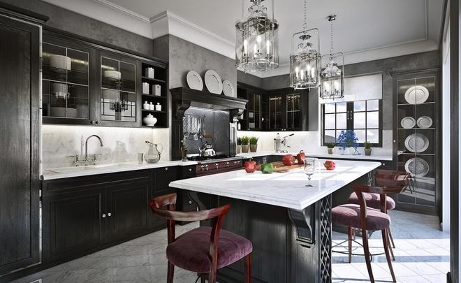 10 ý tưởng phòng bếp truyền thống sang trọng nhưng vô cùng ấm cúng - Ảnh 3.