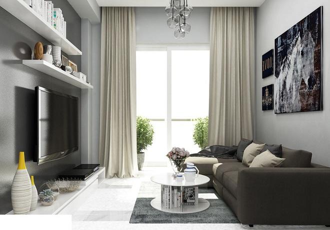 Tư vấn bố trí nội thất căn hộ 70m² với 2 phòng ngủ gọn thoáng và hợp phong thủy cho vợ chồng 8x - Ảnh 3.