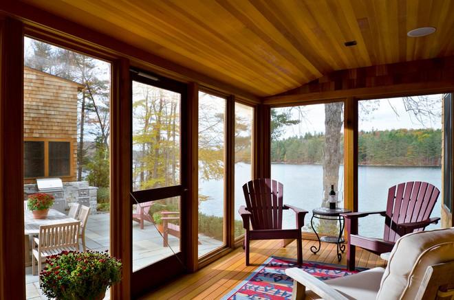 13 ý tưởng biến hiên nhà trở thành không gian nghỉ ngơi đắt giá - Ảnh 4.