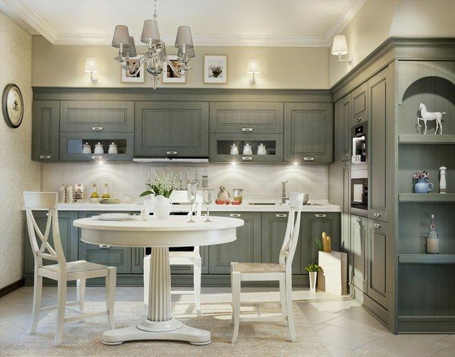 10 ý tưởng phòng bếp truyền thống sang trọng nhưng vô cùng ấm cúng - Ảnh 4.