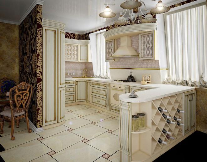 10 ý tưởng phòng bếp truyền thống sang trọng nhưng vô cùng ấm cúng - Ảnh 5.