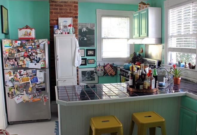 Nhà bếp lộn xộn bỗng tạo cảm giác gọn gàng, ngăn nắp chỉ trong tích tắc nhờ những mẹo này - Ảnh 6.
