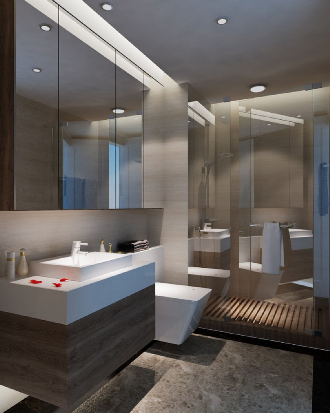 Tư vấn bố trí nội thất căn hộ 70m² với 2 phòng ngủ gọn thoáng và hợp phong thủy cho vợ chồng 8x - Ảnh 13.