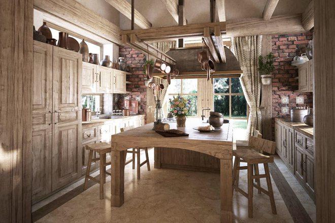 10 ý tưởng phòng bếp truyền thống sang trọng nhưng vô cùng ấm cúng - Ảnh 8.