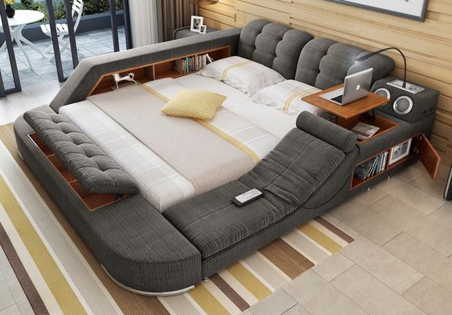 Có chiếc giường đa năng chất thế này thì chỉ muốn nằm lì cả ngày để tận hưởng - Ảnh 10.