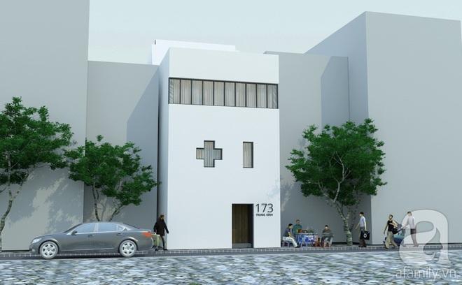 Với 1.5 tỷ đồng, KTS đã hoàn thiện căn nhà ống 3.5 tầng với tổng diện tích gần 300m² - Ảnh 1.