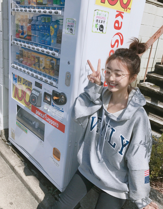 Nhan sắc không thể ngọt ngào hơn của hot girl triệu fan đến từ Trung Quốc - Ảnh 10.