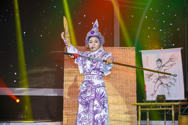 Vừa hát vừa kéo đàn nhị, Hoàng Yến Chibi khiến Đức Huy nghẹn ngào - Ảnh 16.
