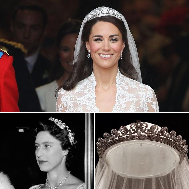 Hóa ra hầu hết đồ trang sức của Công nương Kate đều là đồ đi mượn - Ảnh 1.