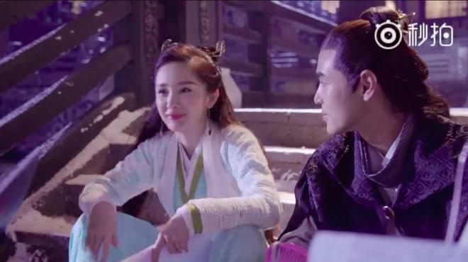 Dương Mịch nhí nhảnh, bắn tim khắp phim trường Phù Dao hoàng hậu - Ảnh 2.
