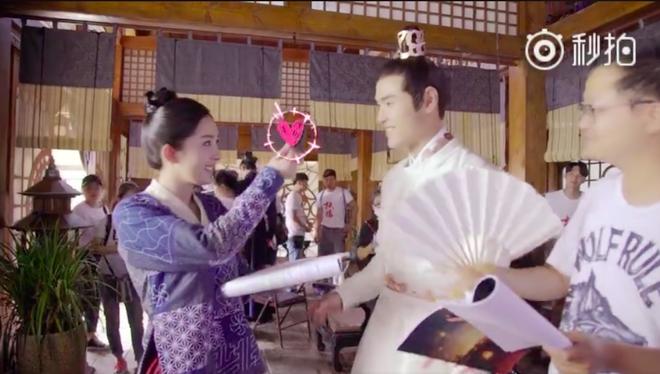 Dương Mịch nhí nhảnh, bắn tim khắp phim trường Phù Dao hoàng hậu - Ảnh 6.