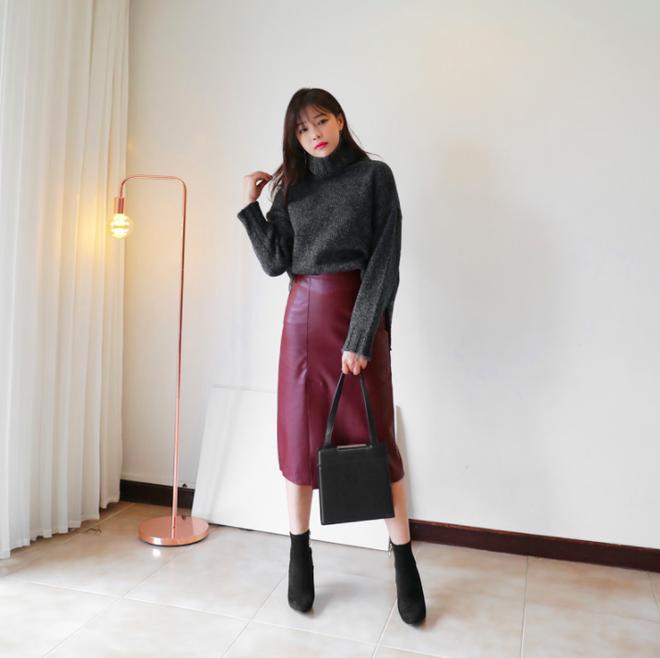 Lên đồ ấm áp cho ngày trời lạnh tăng cường với 4 kiểu chân váy chuyên dụng của mùa đông - Ảnh 11.
